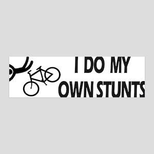 Bike, Bike, Funny Bike Stunts 36x11 Wall Peel