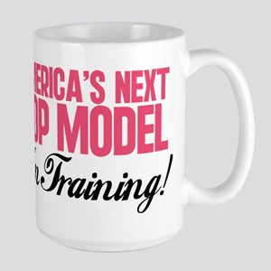 America's Next Top Model In T Large Mug