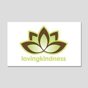 Lovingkindness 20x12 Wall Peel