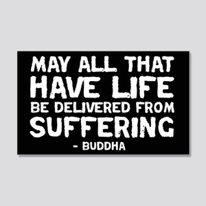 Quote - Buddha - Delivered fr 20x12 Wall Peel