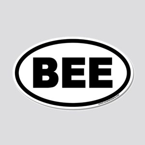 BEE Euro 20x12 Oval Wall Peel