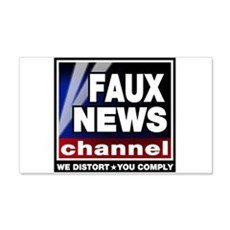 Faux News - On a 20x12 Wall Peel
