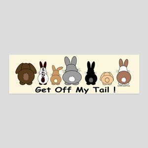 Receding Hare Line 36x11 Wall Peel
