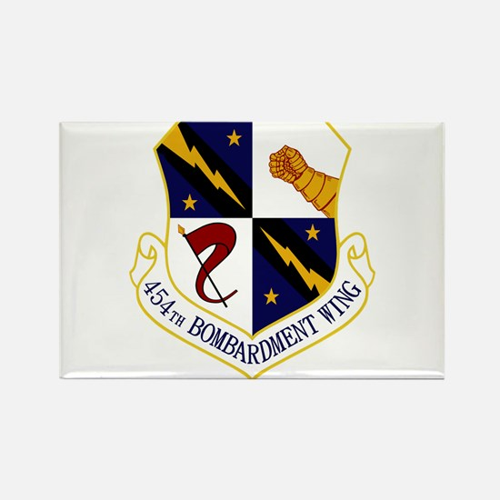 454th Bomb Wing Rectangle Magnet