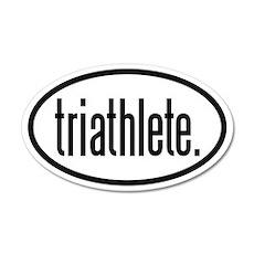 triathlete 20x12 Oval Wall Peel