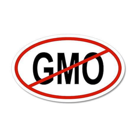 GMO 20x12 Oval Wall Peel