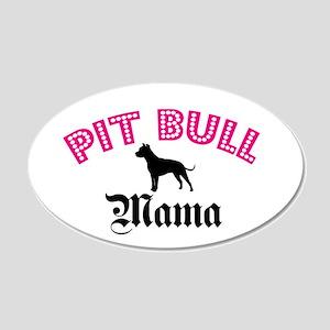 Pit Mama 20x12 Oval Wall Peel