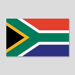 South Africa Flag 20x12 Wall Peel