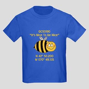 Bee Geocache Kids Dark T-Shirt