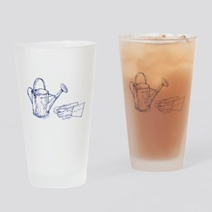 water can garden gloves Drinking Glass
