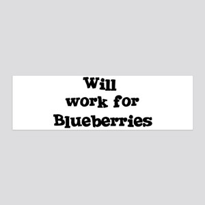 Will work for Blueberries 36x11 Wall Peel