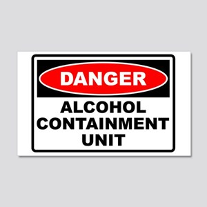 Alcohol Containment 20x12 Wall Peel