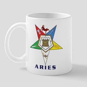 OES Aries Sign Mug