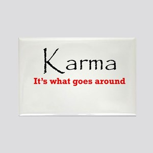 Karma1 Rectangle Magnet