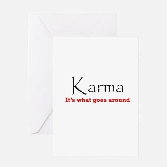 Karma1 Greeting Card