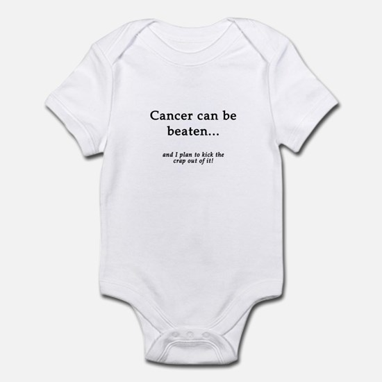 Cancer Can Be Beaten Infant Creeper