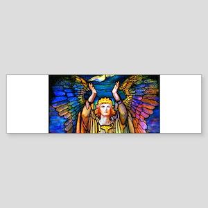 Angelicon Art Nouveau Angel Sticker (Bumper)