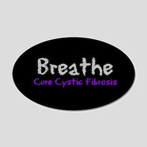 Breathe (Cure CF) 20x12 Oval Wall Peel