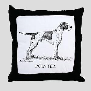 Pointer Throw Pillow