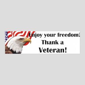 Thank a Veteran 36x11 Wall Peel