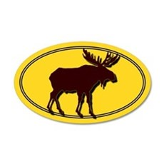 Moose Silhouette Sticker
