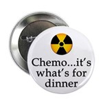 "Chemo...It's What's for Dinner 2.25"" Button ("