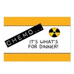 Chemo...It's What's for Dinner Postcards (Package
