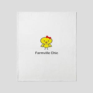 Farmville Chic Throw Blanket