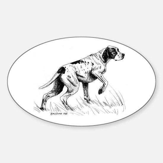 Pointer Sticker (Oval)