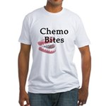 Chemo Bites Fitted T-Shirt