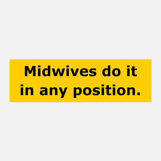 Midwives Do It 36x11 Wall Peel