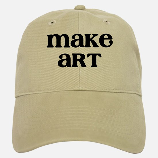 Make Art Baseball Baseball Cap