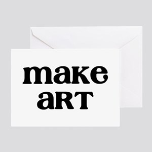 Make Art Greeting Card