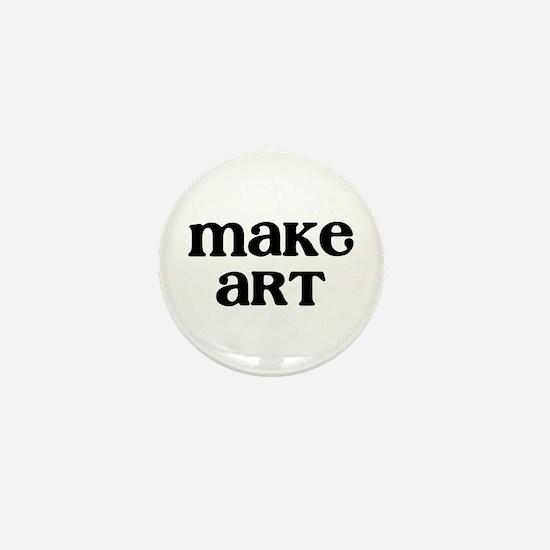Make Art Mini Button