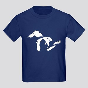 Michigan Kids Dark T-Shirt