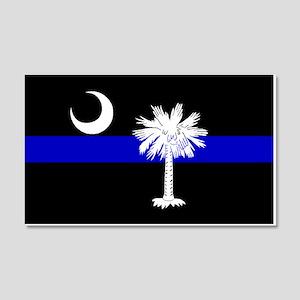 South Carolina Police 20x12 Wall Peel