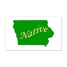 Iowa Native 20x12 Wall Peel