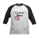Cancer Bites Kids Baseball Jersey