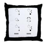 SignWriting Throw Pillow