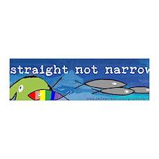 Straight But Not Narrow 36x11 Wall Peel
