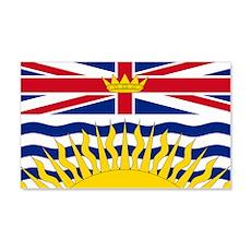 BC Flag 20x12 Wall Peel