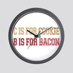 Cookies and Bacon Wall Clock