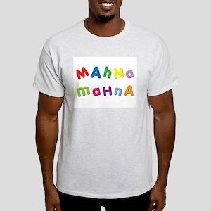 Mahna Mahna Ash Grey T-Shirt