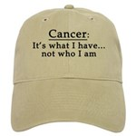 Cancer Not Who I Am Cap