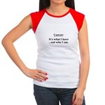 Cancer Not Who I Am Women's Cap Sleeve T-Shirt