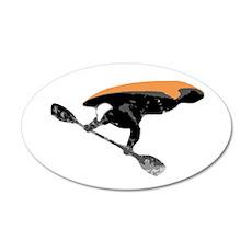 Air-Kayak 20x12 Oval Wall Peel