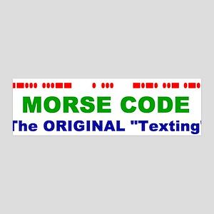 "36x11 Wall Peel - Morse Code The Original ""Te"