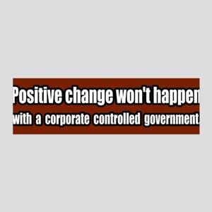 End Corporate Controlled Government 36x11 Wall Pee