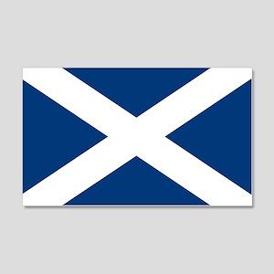 Scottish Flag 20x12 Wall Peel