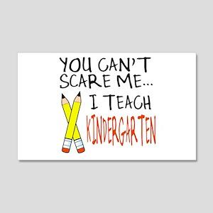 Kindergarten Teacher 20x12 Wall Peel